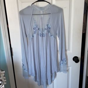Free people new with tags size large tunic